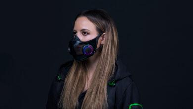 La nueva máscara de Razer parece sacada directamente de un videojuego