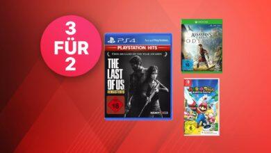 MediaMarkt compra 3, paga 2: juegos para PS4, Switch y Xbox a la venta