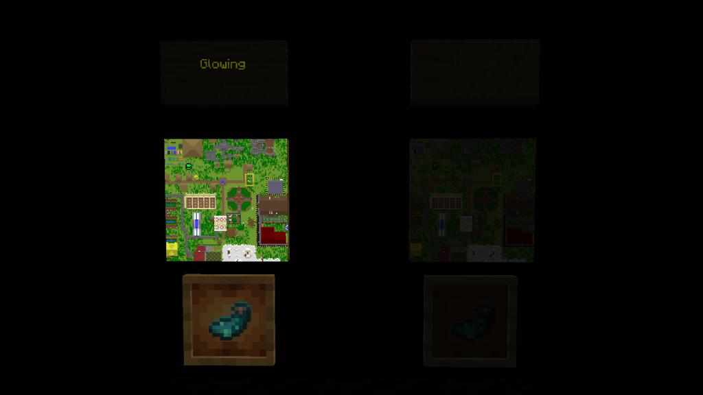 Objetos Brillantes de Minecraft