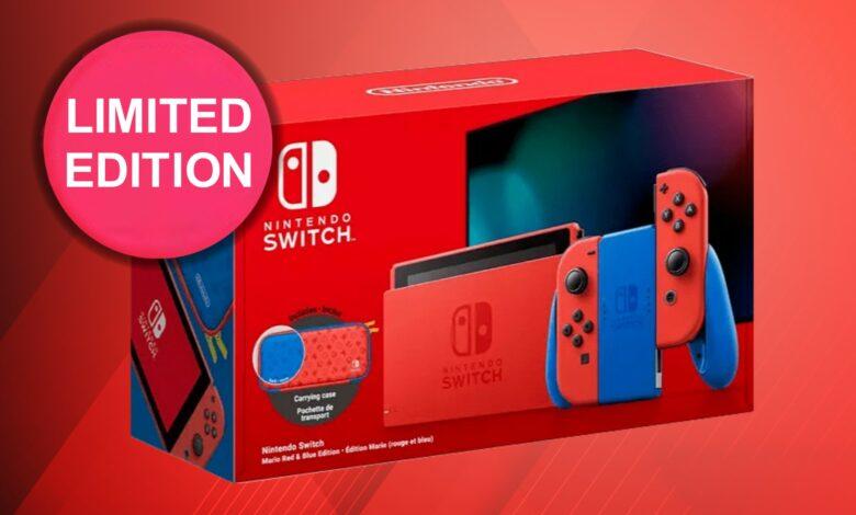 Nintendo Switch limitado para fanáticos de Super Mario con bolsa disponible para pre-pedido