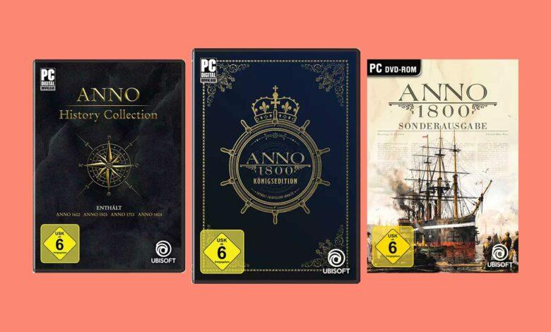 Oferta Amazon: Anno 1800 & Anno History Collection al mejor precio