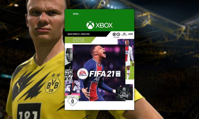 Oferta de Amazon: FIFA 21 Key para Xbox Series X a un precio excelente