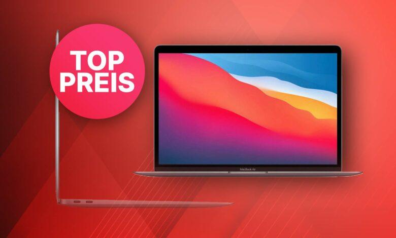 Oferta superior de OTTO: Apple MacBook Air M1 al mejor precio actual