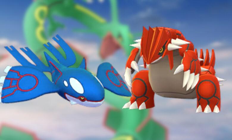Pokémon GO: Por eso valen la pena las incursiones con Kyogre y Groudon