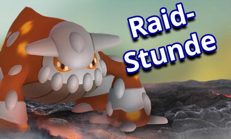 Pokémon GO comienza la lección de incursión con Heatran hoy, pero ¿estás participando?