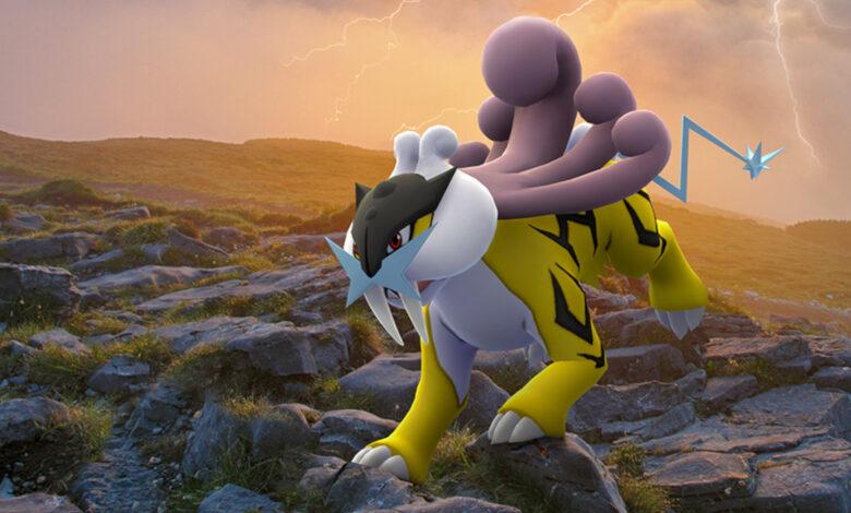 Pokémon GO: estos son los mejores contraataques contra Raikou en una incursión