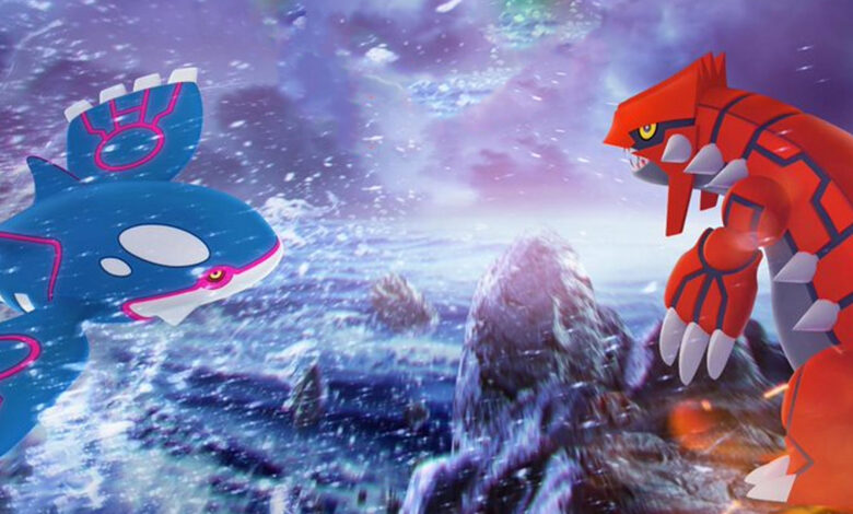 Pokémon GO: lección de incursión de hoy con Groudon y Kyogre: usa este contraataque
