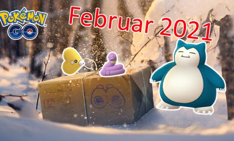 Pokémon GO: todos los eventos y horarios destacados en febrero de 2021