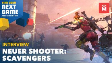 Pronto llegará una nueva generación de tiradores: el jefe nos cuenta cómo quiere ganar Scavengers