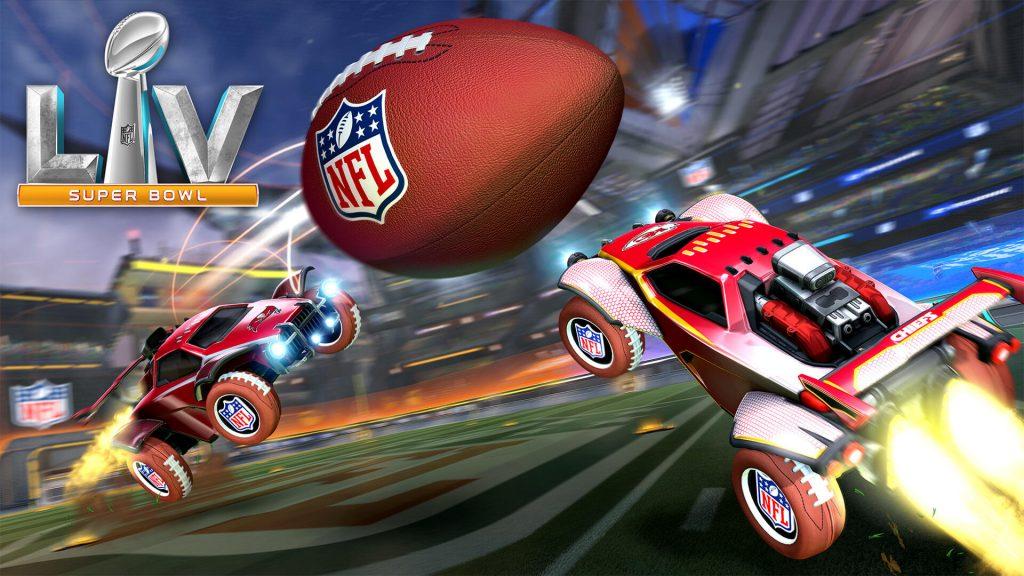 Rocket League Super Bowl PR