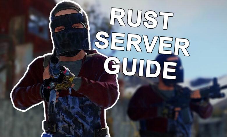 Rust: Alquile y configure un servidor, así es como funciona