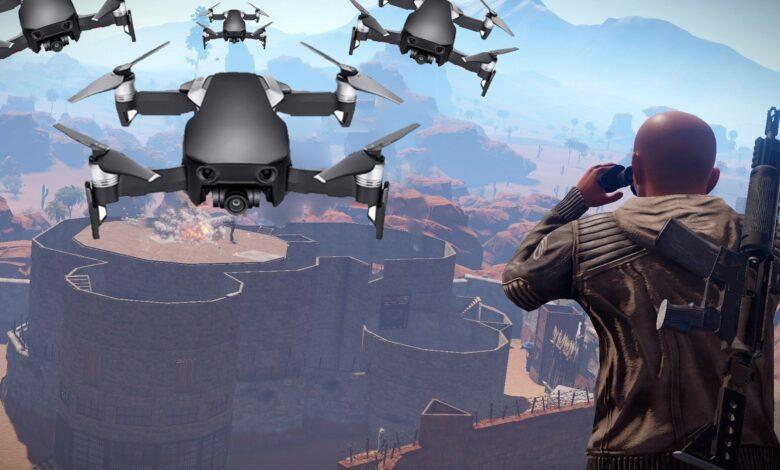 Rust está recibiendo drones y pronto el servicio de entrega enviará la muerte