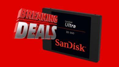 Ultra 3D SSD 1TB de Sandisk reducido por 85 € y más en MediaMarkt