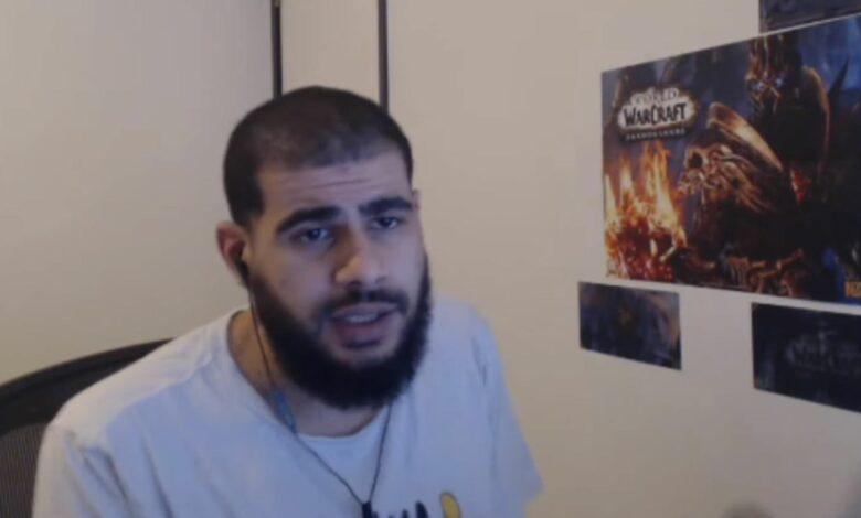 """Veterano de WoW expulsado de Twitch después de 10 años: """"Siéntete como un criminal"""""""