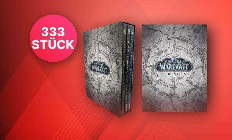 WoW Chronicles Volumen 1-3: Compre la edición especial muy limitada ahora