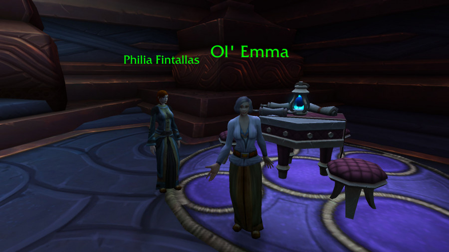 WoW Ol Emma Shadowlands