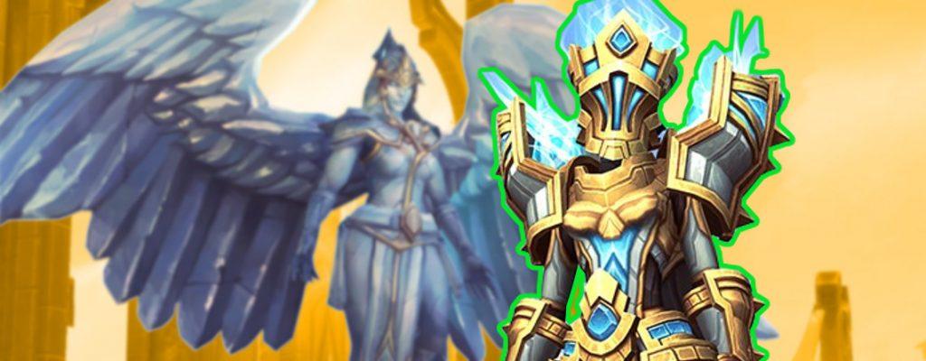 Título de recompensas de WoW Shadowlands Angel Bastion Kyrian