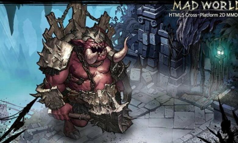 ¿Estás buscando un MMORPG para todas partes? Mad World comienza en su navegador en 2021