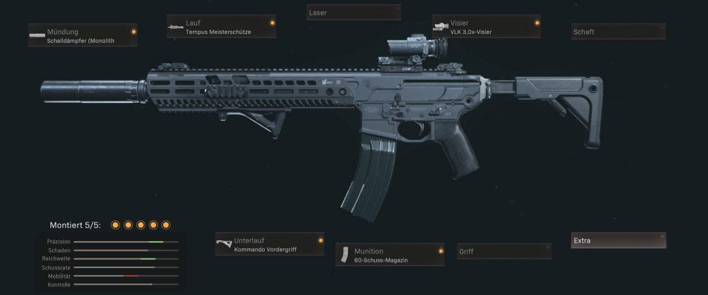 pistolas más populares de cod warzone con configuraciones de enero de 2021 - m13