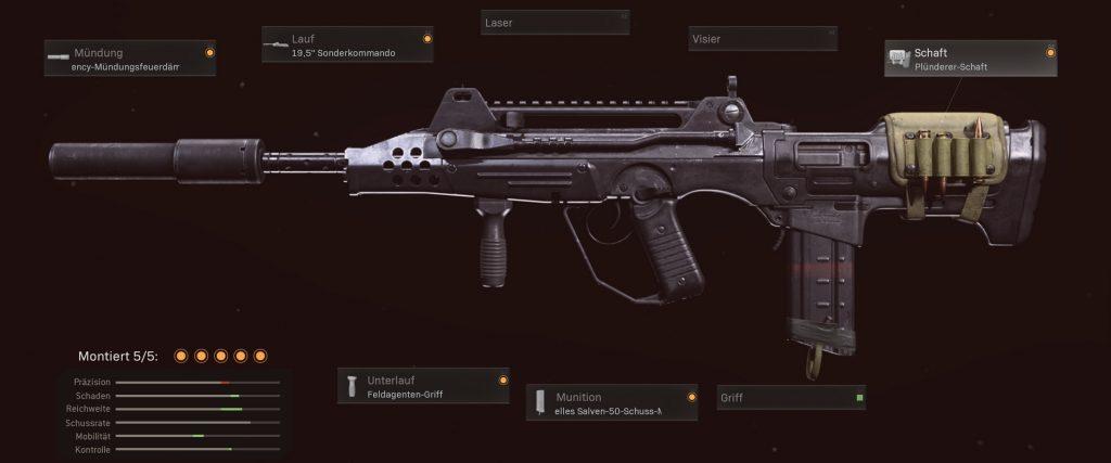 pistolas más populares de la zona de guerra de cod con configuraciones de enero de 2021 - ffar 1