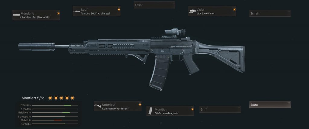 pistolas de cod warzone más populares con configuraciones jan 2021 - gris 556