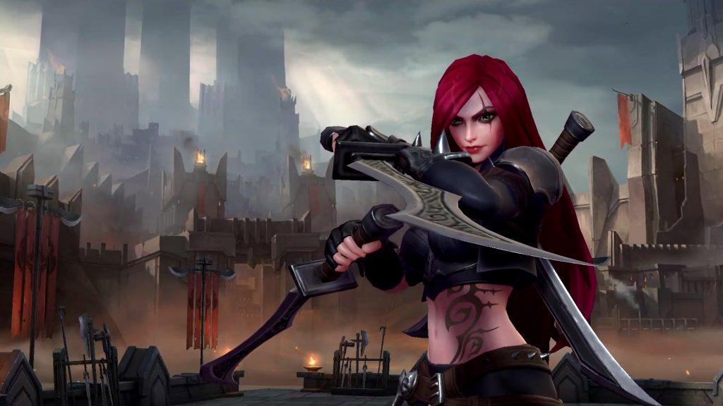 LOl Wild Rift Katarina