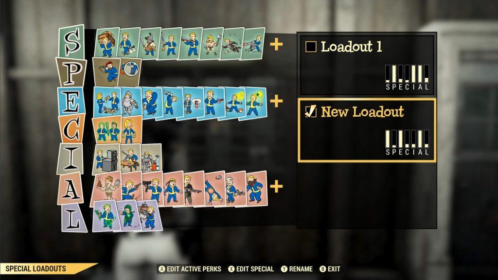 Fallout 76 cargas de ventajas