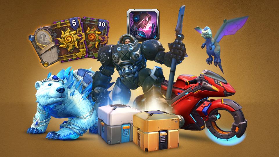 Paquete de aniversario de Blizzard 3