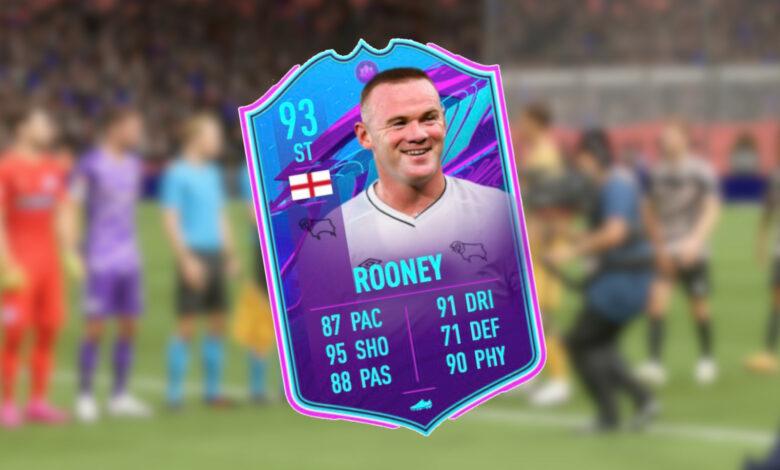 FIFA 21: la nueva tarjeta SBC de Wayne Rooney en realidad solo tiene una debilidad