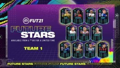 FIFA 21: Future Stars - Se anuncia el equipo 1 de Future Stars
