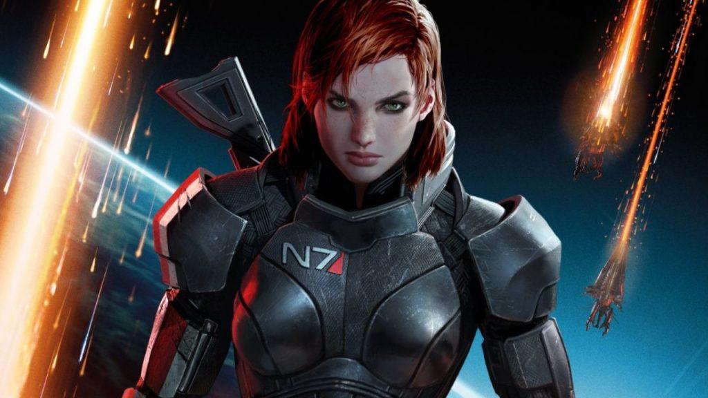 Mass Effect Female Shepard título título 1280x720