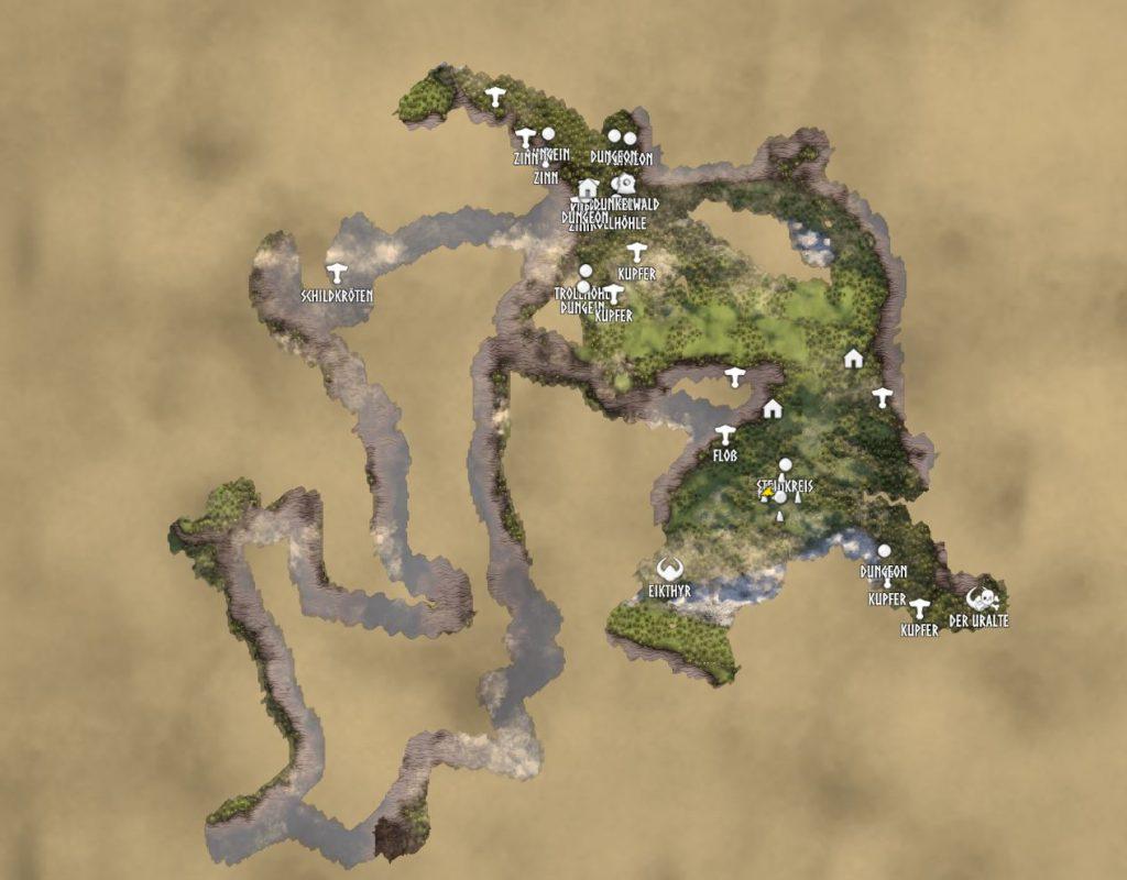 Valheim Map pequeño