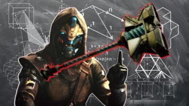 Destiny 2: usa y mejora el nuevo martillo de examen de la temporada 13