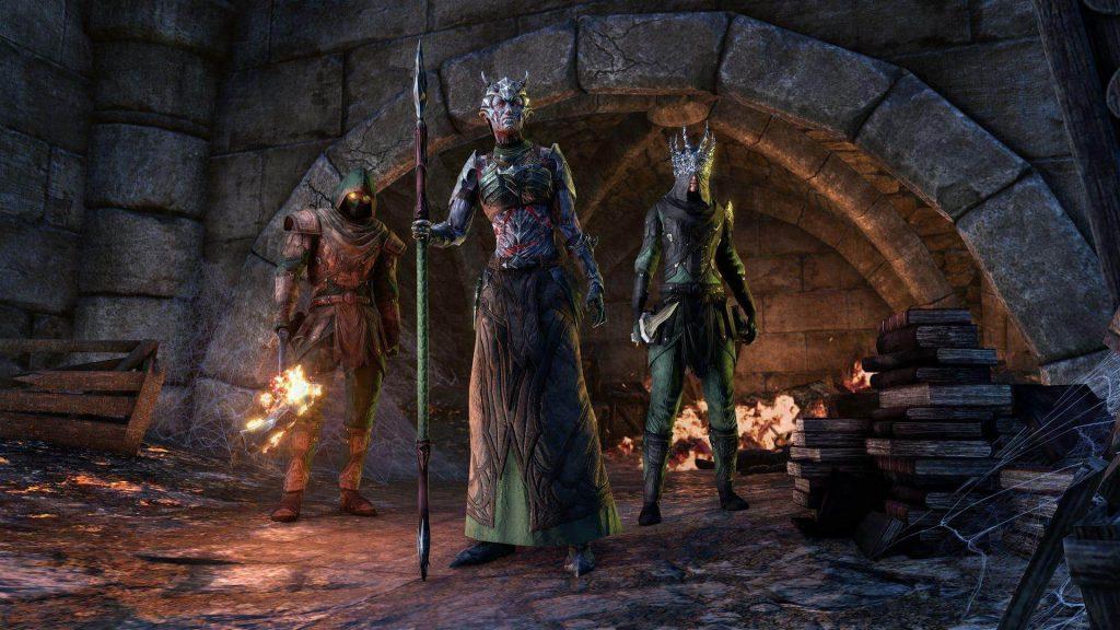 Diseño de caldero de Elder Scrolls Online