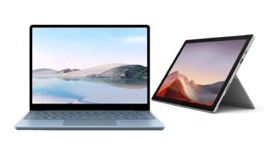 Oferta de Amazon: Surface Pro 7 y Surface Go muy reducidas