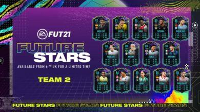 FIFA 21: Future Stars - Team 2 de Future Stars anunciado