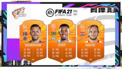 FIFA 21: MOTM - Nuevas cartas de Hombre del partido disponibles - 13 de febrero