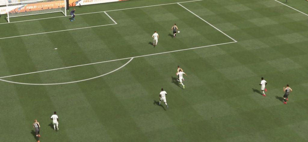 Balón a través de FIFA 21