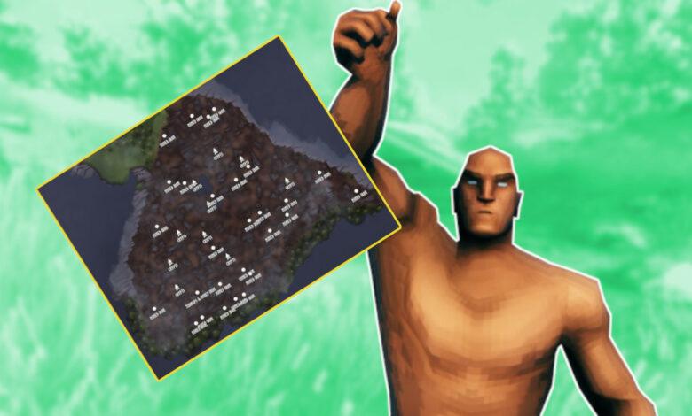 Las mejores semillas para Valheim y lo que puedes encontrar en los mapas