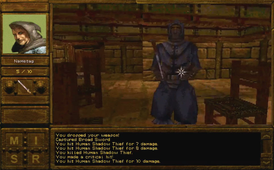 Captura de pantalla de Descent to Undermountainjpg