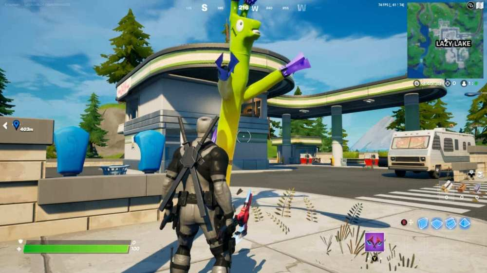 donde encontrar llamas inflables tubemen en fortnite