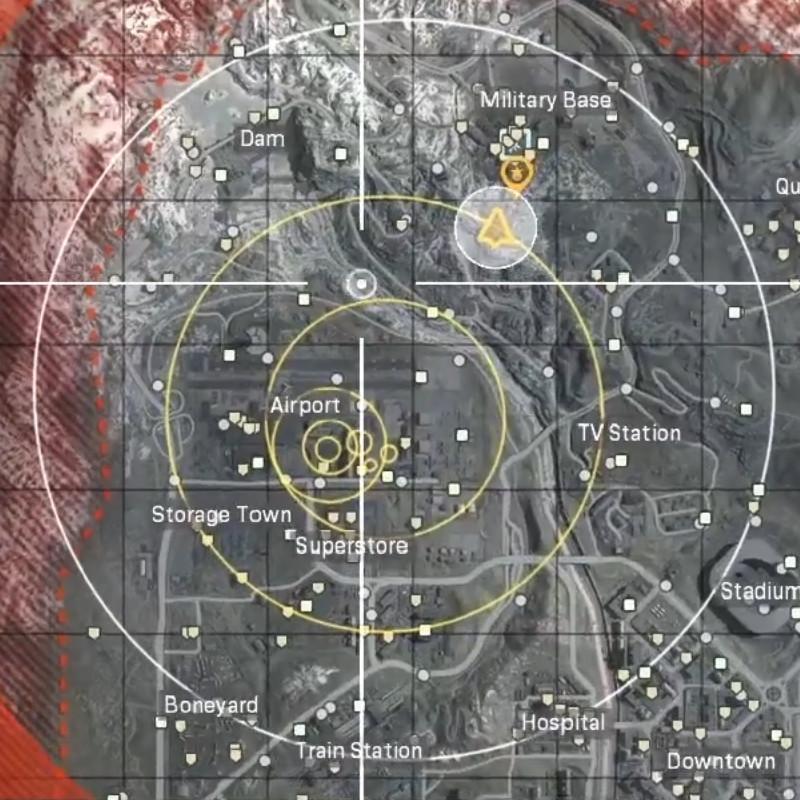 zona de guerra de bacalao completo círculo de gas vista previa previsión