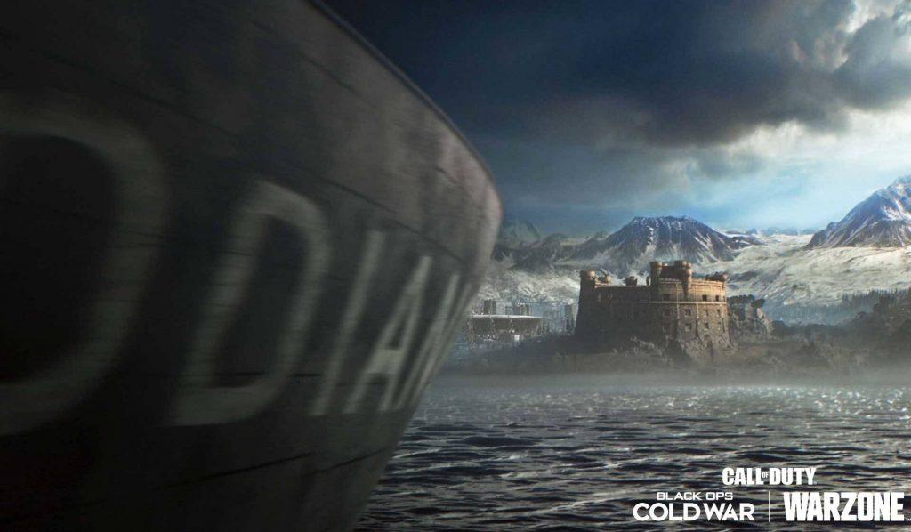 Barco de zona de guerra de bacalao en alta mar temporada 2