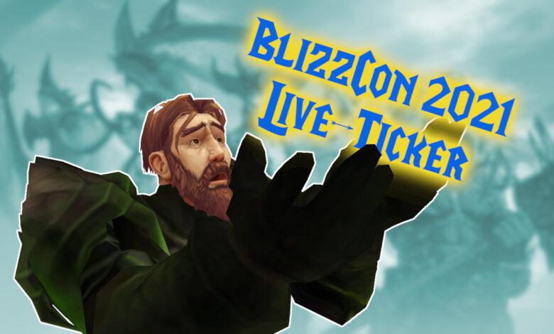 BlizzCon 2021 en el ticker en vivo: todos los anuncios y nuevos avances