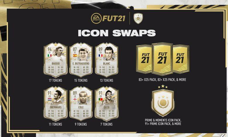 FIFA 21: Icon Swaps 2 - Fichas y logros