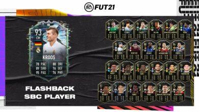 FIFA 21: Toni Kroos Flashback Era SBC - Requisitos y soluciones