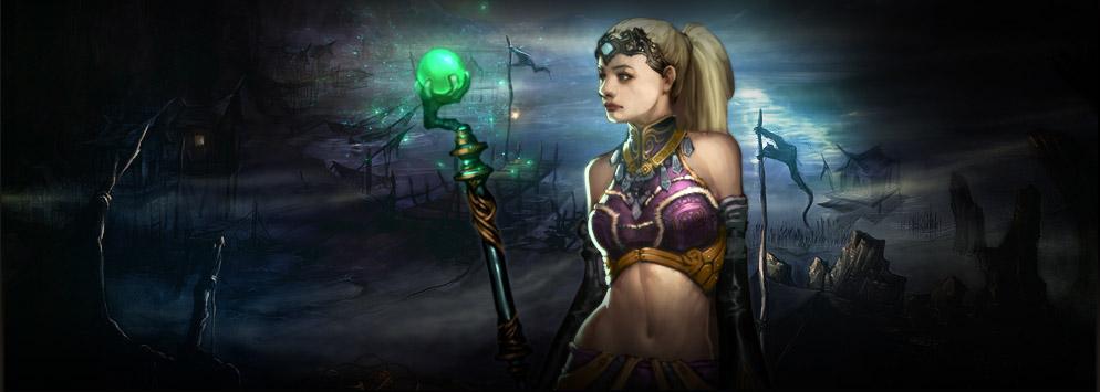 Acompañante de Diablo 3 Enchantress