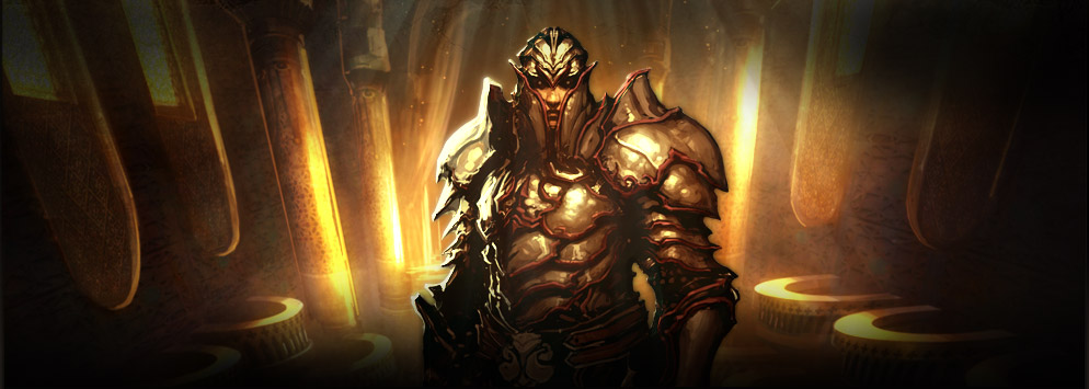 Compañero seguidor de Diablo 3 Templar