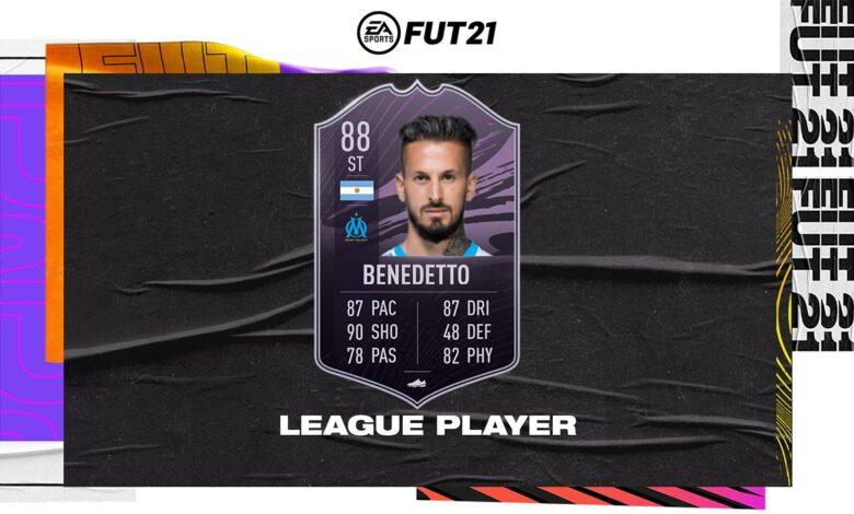 FIFA 21: Objetivos Dario Benedetto League Player - Requisitos