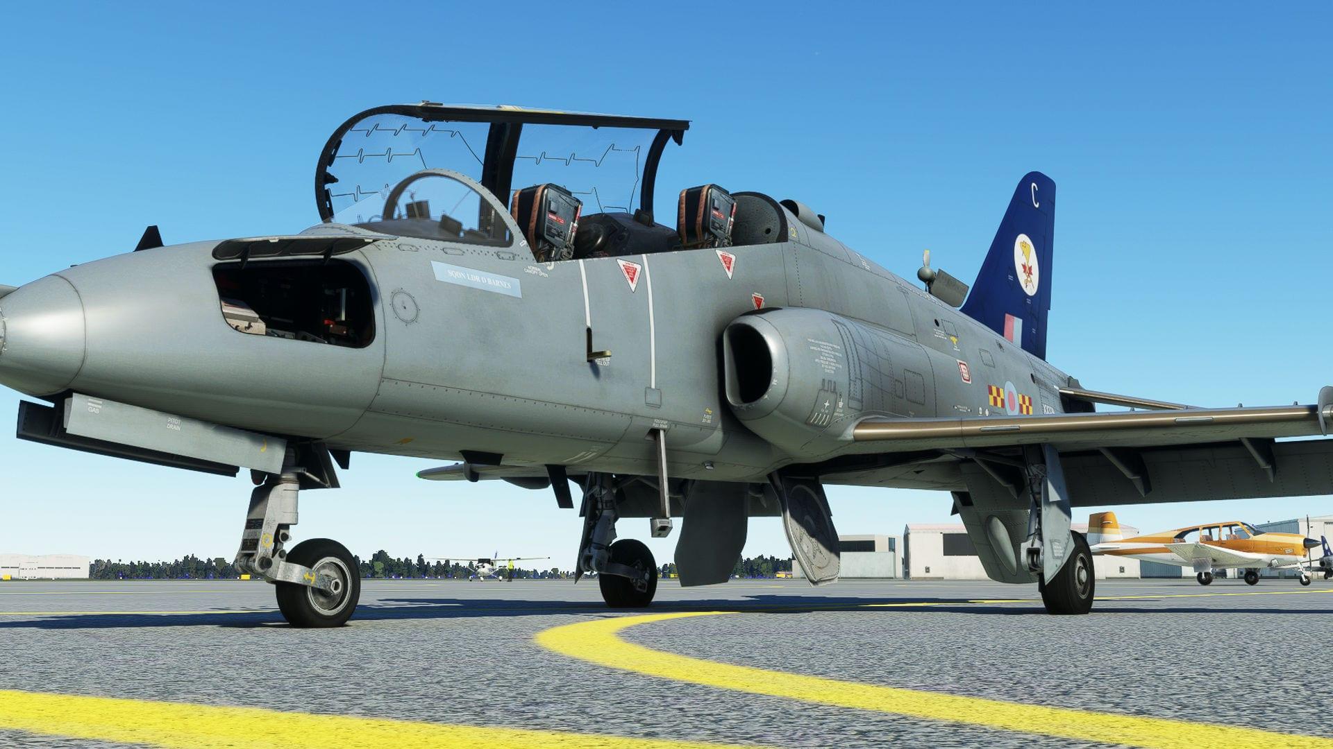Microsoft Flight Simulator Hawk